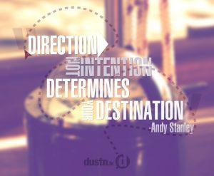 direction determines destination 2