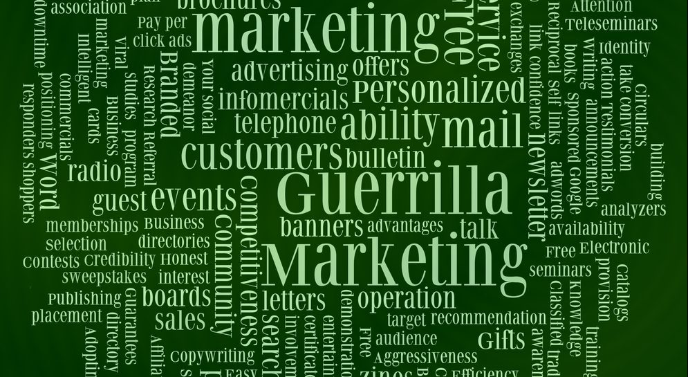 guerrilla marketing strategies